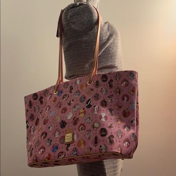 Dooney & Bourke Handbags - ⭐️RARE⭐️  Disney Dogs Dooney and Bourke Tote 👜